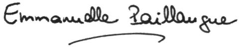 Signature Emmanuelle Paillaugue